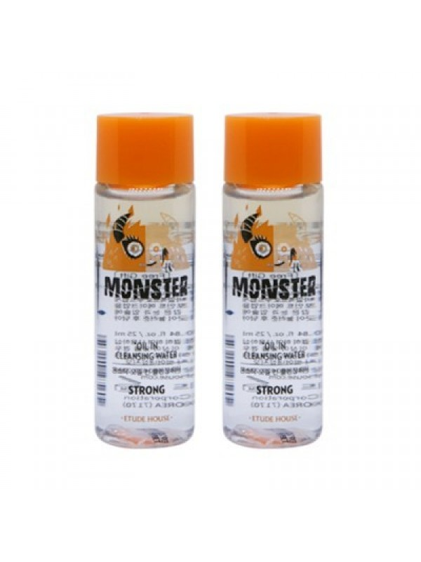 Etude House Monster Oil In Cleansing Water Strong 25ml