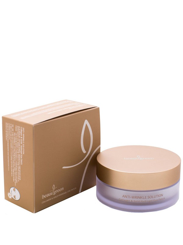 Beauu Green Hydrogel Collagen & Gold Eye Patch 60шт