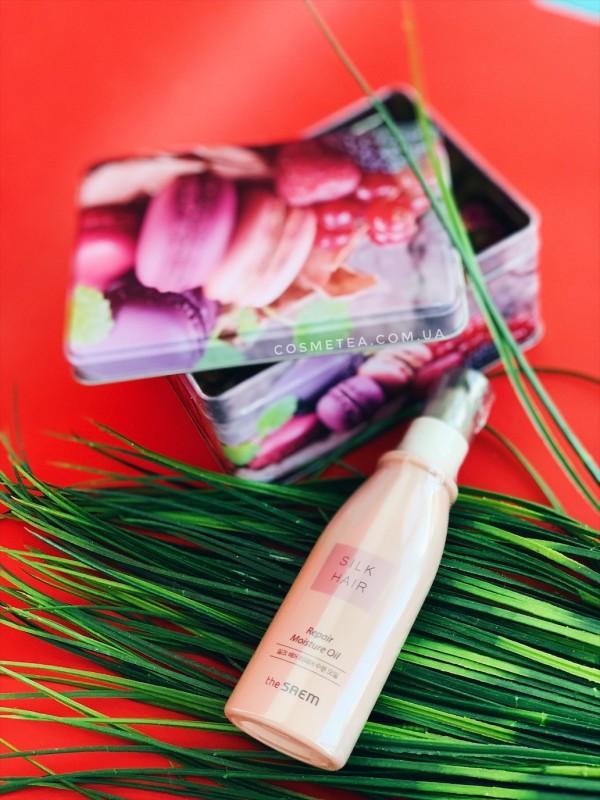 The Saem Silk Hair Repair Moisture Oil 80ml