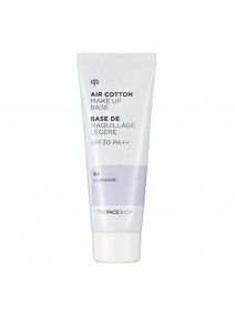The Face Shop Air Cotton MakeUp Base Lavender 40ml
