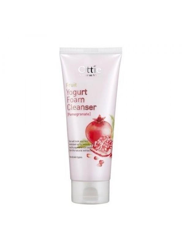 Ottie Fruit Yogurt Foam Cleanser Pomegranate 150ml