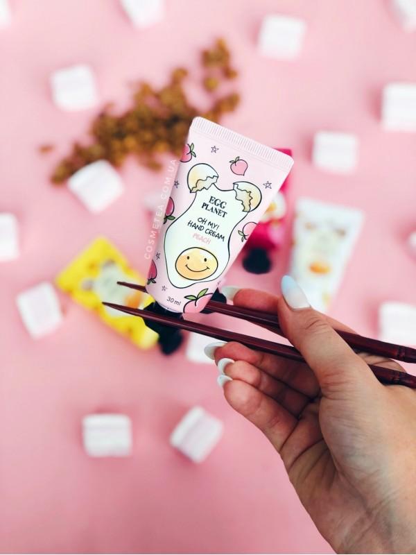 Daeng Gi Meo Ri Egg Planet Oh My Hand Cream Peach 30ml