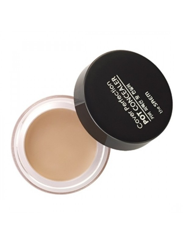 The Saem Cover Perfection Pot Concealer  Clear Beige 4g