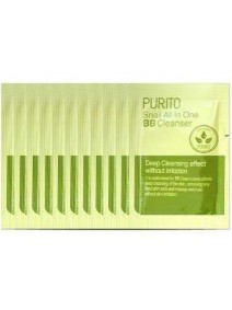 Test Purito Snail All In One BB Cleanser Sample