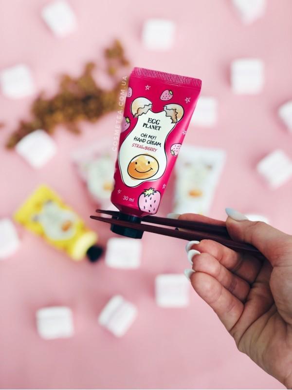Daeng Gi Meo Ri Egg Planet Oh My Hand Cream Strawberry 30ml