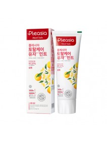 Pleasia Total Care Mint Toothpaste Yuzu Mint 100g