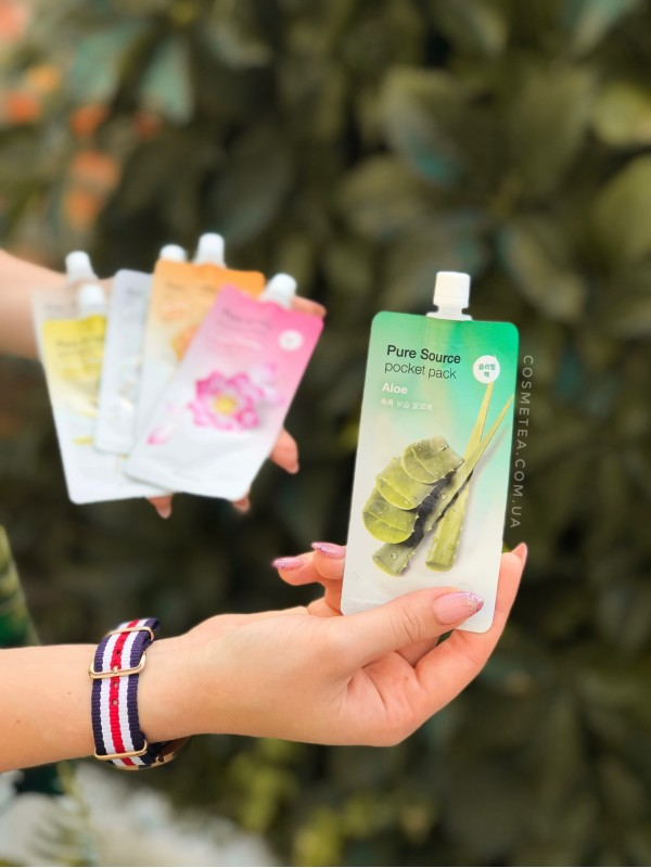 Missha Pure Source Pocket Pack Aloe
