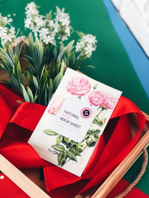The Saem Natural Rose Mask Sheet