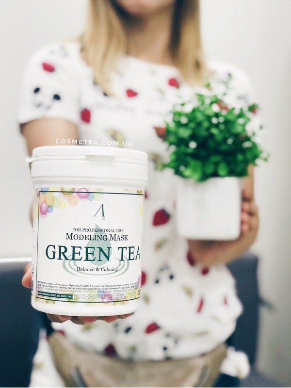 ANSKIN Green Tea Modeling Mask 240g