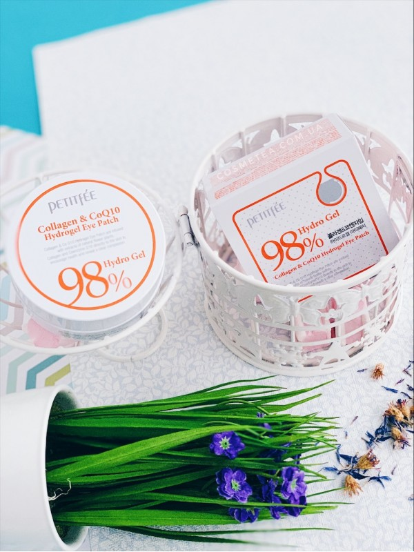 Petitfee Collagen & Co Q10 Hydrogel Eye Patch 60шт