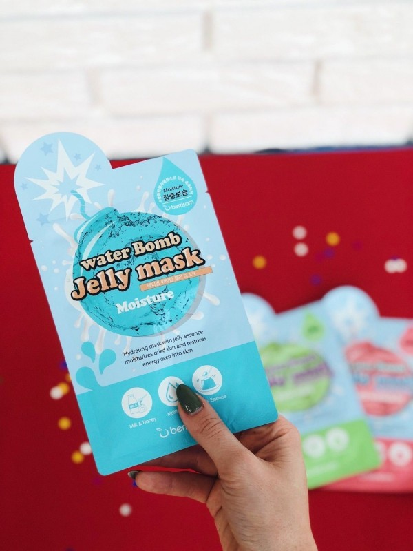 Berrisom Water Bomb Jelly Mask Moisture
