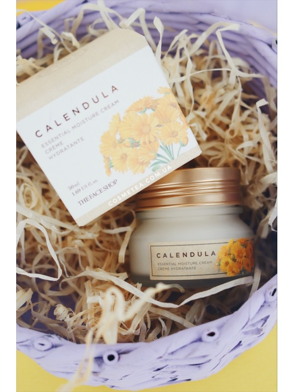 The Face Shop Calendula Essential Moisture Cream 50ml