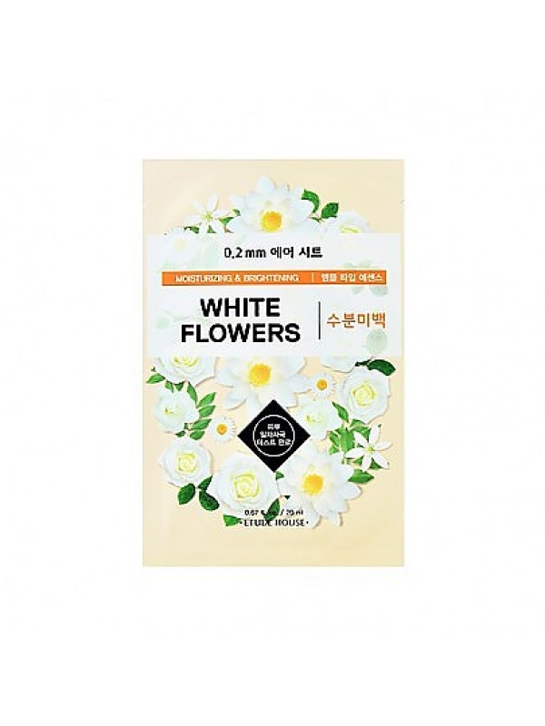 Etude House 0.2mm White Flowers Therapy Air Mask