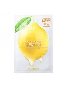 The Saem Natural Lemon Mask Sheet