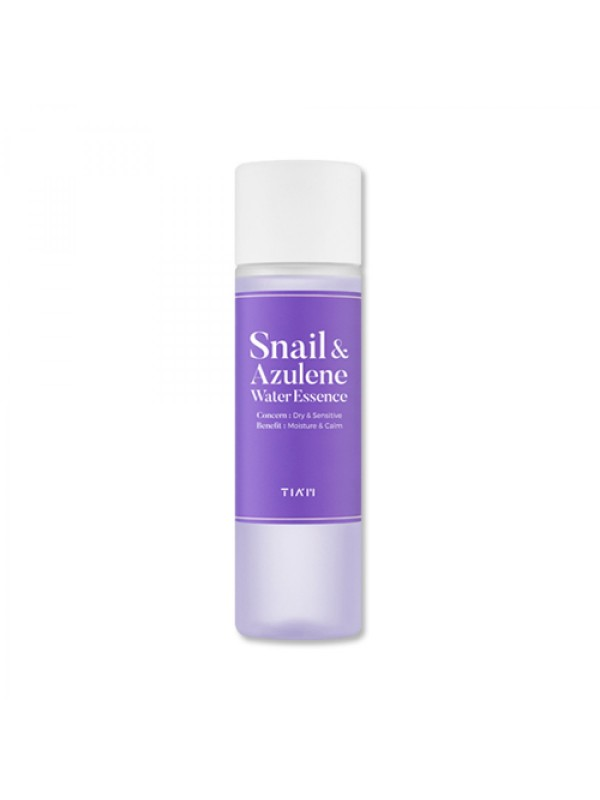 Tiam Snail & Azulene Water Essence 180ml