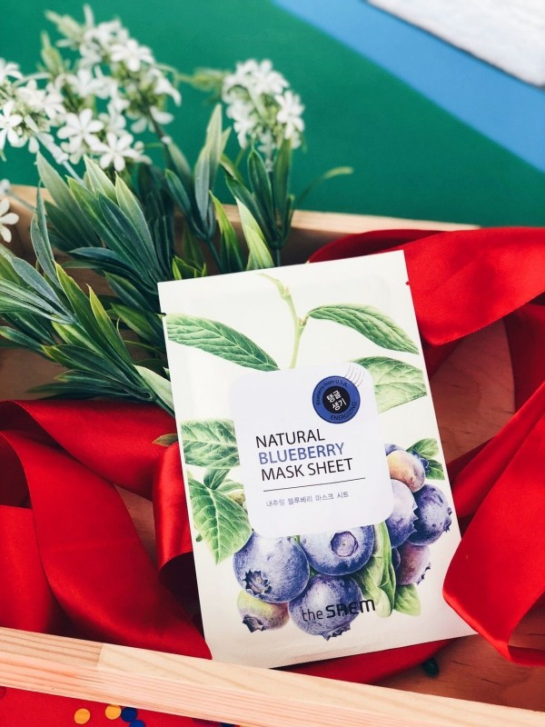 The Saem Natural Blueberry Mask Sheet