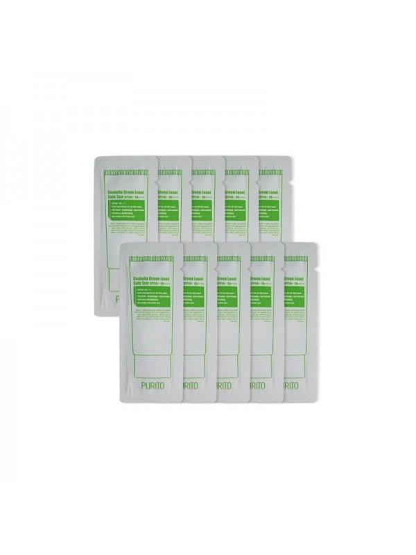 Purito Centella Green Level Safe Sun SPF50+ / PA++++ Sample