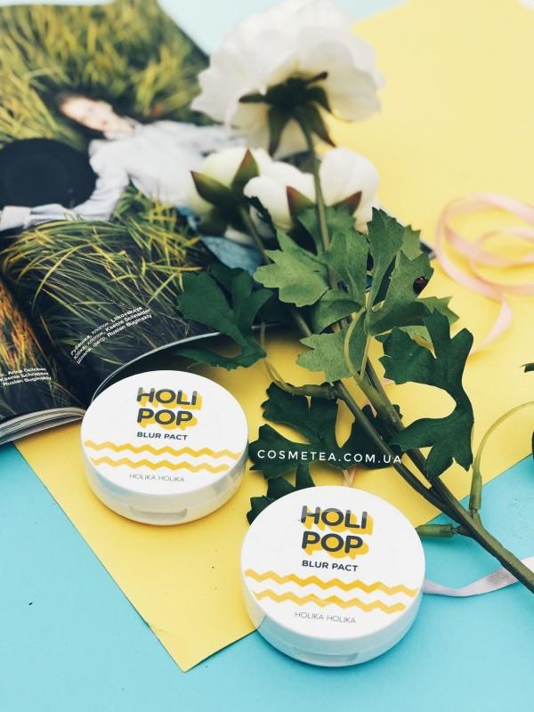 Holika Holika Holi Pop Blur Pact (SPF30 PA+++) №01