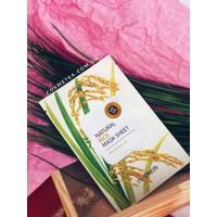 The Saem Natural Rice Mask Sheet