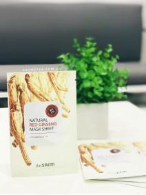 The Saem Natural Red Ginseng Mask Sheet