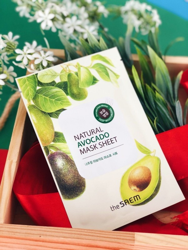 The Saem Natural Avocado Mask Sheet