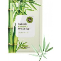 The Saem Natural Bamboo Mask Sheet
