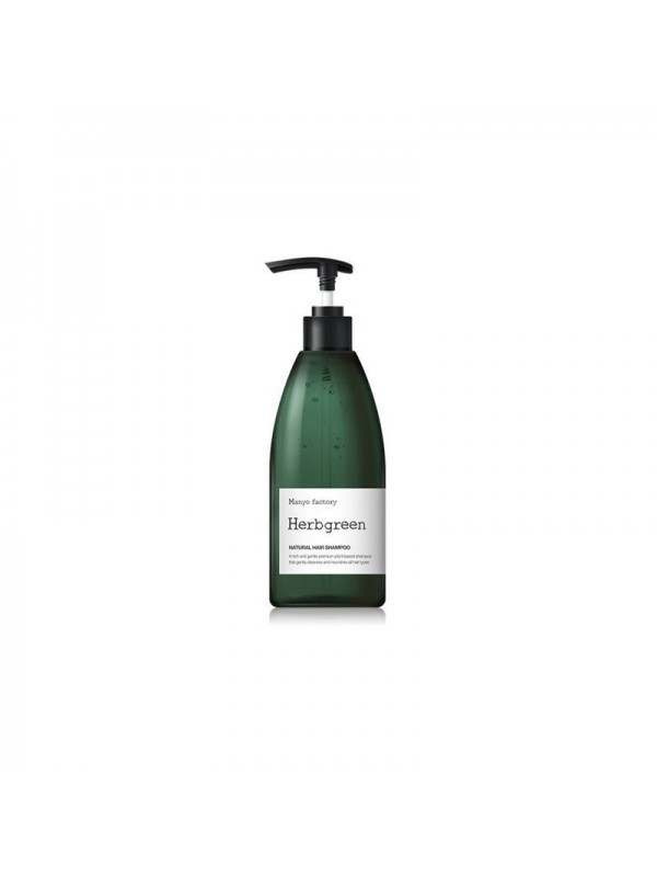 Manyo Factory Herb Green Moisturizing Hair Shampoo 500ml