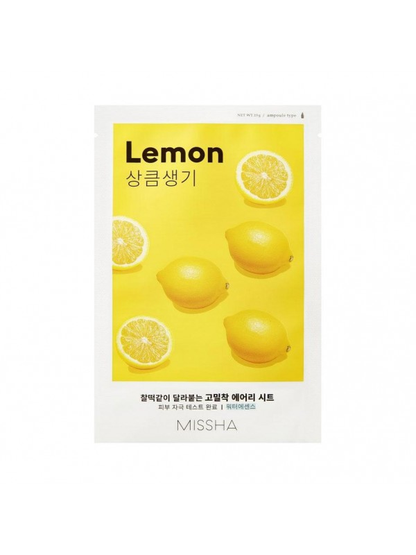 Missha Airy Fit Lemon Sheet Mask