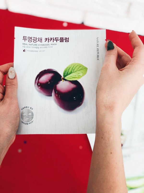 Nature Republic Real Nature Hydrogel Mask Kakadu Plum