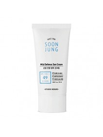 Etude House Soon Jung Mild Defence Sun Cream (SPF49 PA++) 50ml – фото 9
