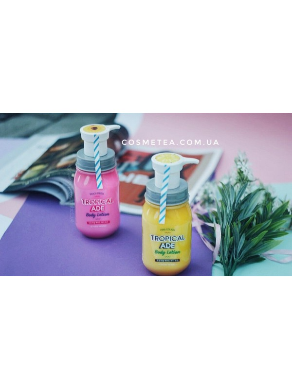 Etude House Tropical Ade Body Lotion Paech Crush 300ml