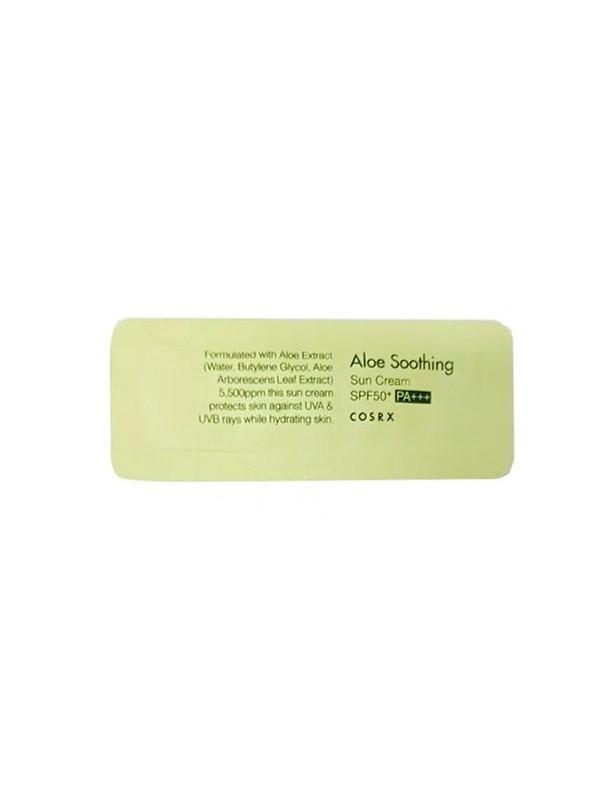 Cosrx Aloe Soothing Sun Cream SPF50 PA+++ Sample