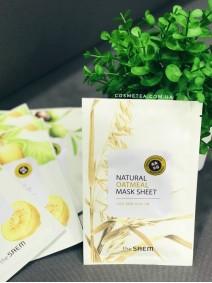 The Saem Natural Oatmeal Mask Sheet