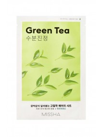 Missha Airy Fit Green Tea Sheet Mask