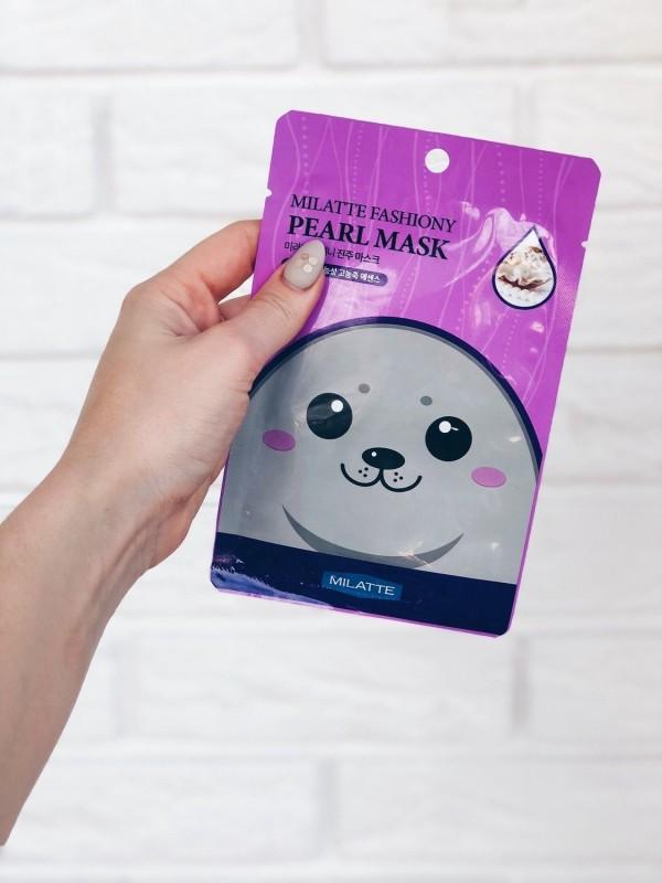 Milatte Fasiony Pearl Mask