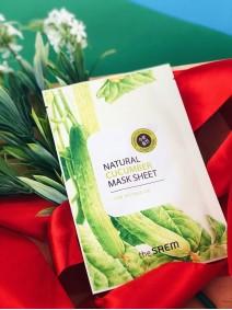 The Saem Natural Cucumber Mask Sheet