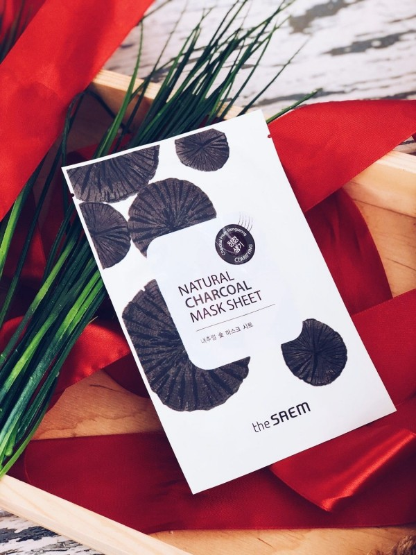 The Saem Natural Chaorcoal Mask Sheet