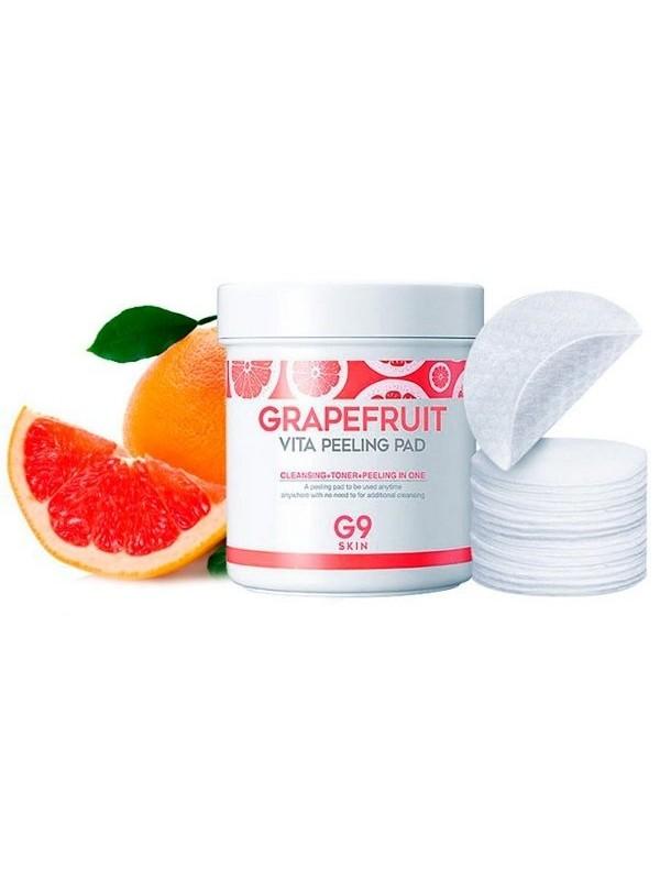 G9skin Grapefruit Vita Peeling Pad 100шт
