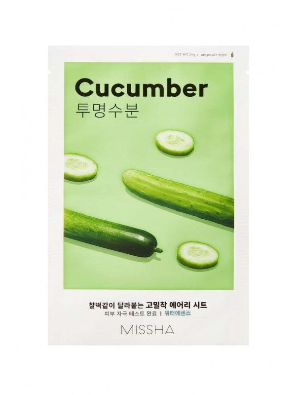 Missha Airy Fit Cucumber Sheet Mask