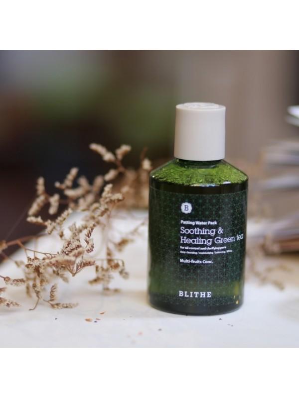 Blithe Patting Splash Mask Soothing & Healing Green Tea 200ml