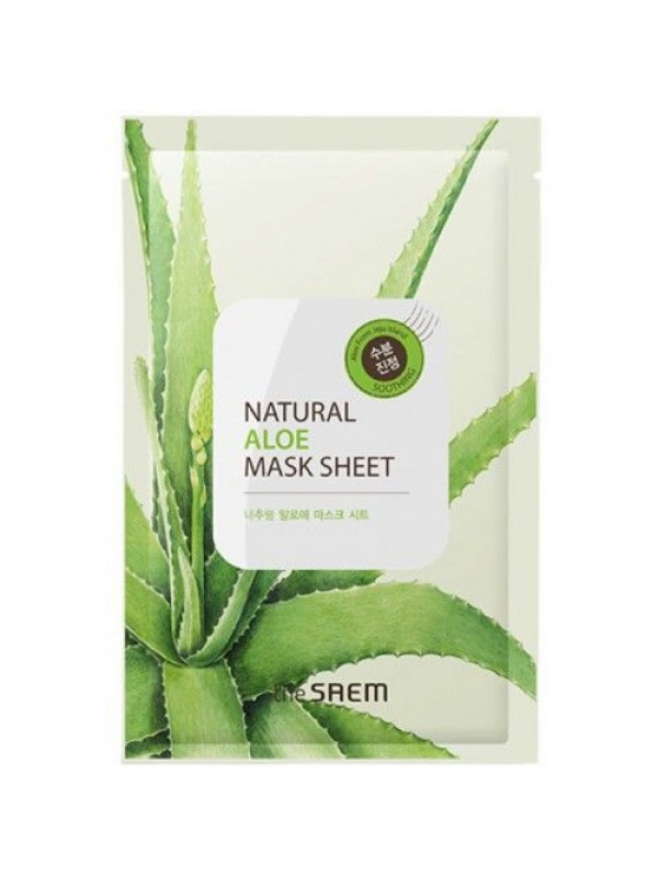 The Saem Natural Aloe Mask Sheet