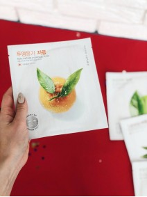 Nature Republic Real Nature Hydrogel Mask Grapefruit