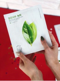 Nature Republic Real Nature Hydrogel Mask Green Tea