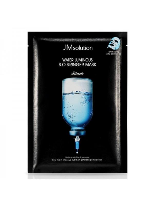 JM Solution Water Luminous S.O.S Ringer Mask Black