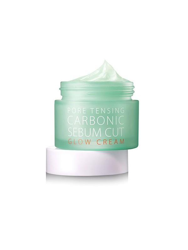 So Natural Pore Tensing Carbonic Sebum Cut Glow Cream 50ml