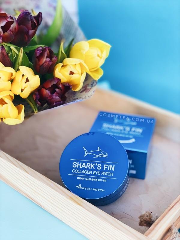 Patch Fetch Shark's Fin Collagen Eye Patch 60шт