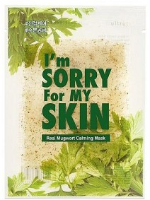 I'm Sorry For My Skin Real Mugwort Calming Mask