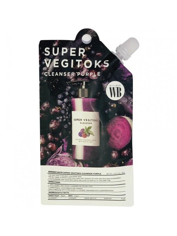 Wonder Bath Super Vegitoks Cleanser Purple 30ml