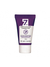 May Island 7 Days Secret 4D Collagen Cleansing Foam 30ml