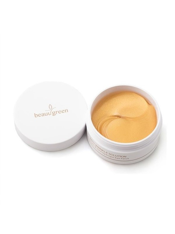 Beauu Green Hydrogel Collagen & Gold  Eye Patch 60шт